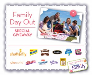 Family Day Out Nestle Family Mother's Day Giveaway