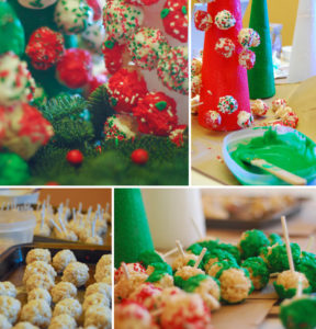 Rice Krispie Holiday collage