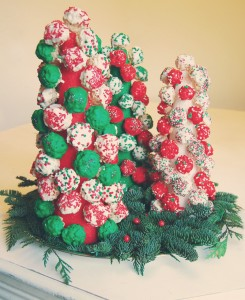 Rice Krispies Tree