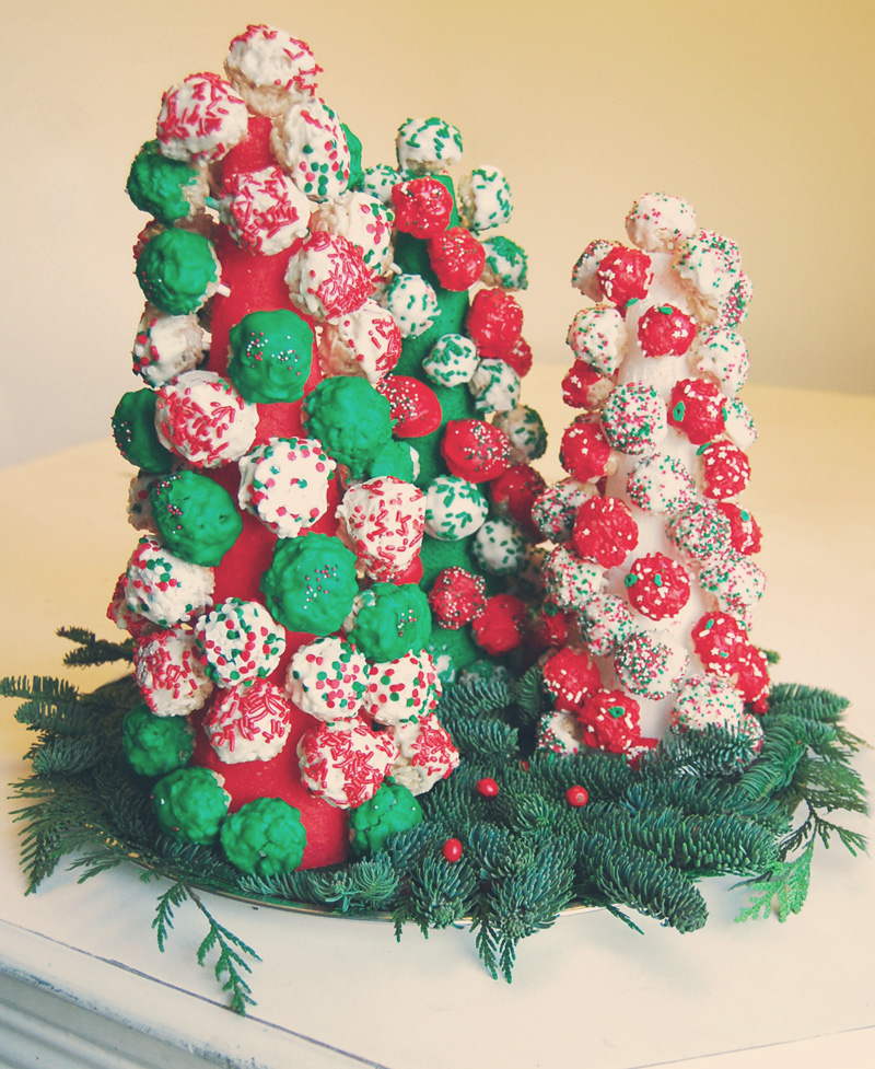 Rice Krispies Treats Christmas Trees