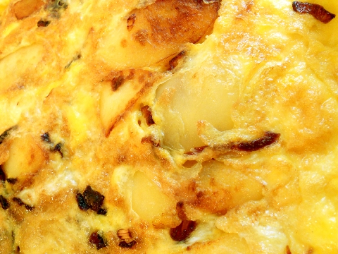 Spanish Egg and Potato Omelette - Tortilla Española