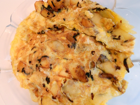 Tortilla Española – Egg and Potato Omelette