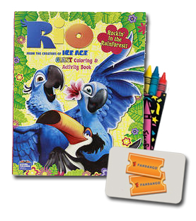 Rio Movie Prize Pack