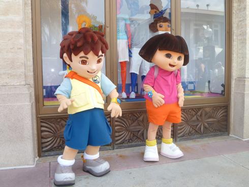 Dora and Diego Universal Studios Orlando