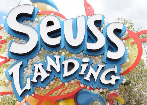 Seuss Landing at Universal's Islands of Adventure in Orlando, Florida