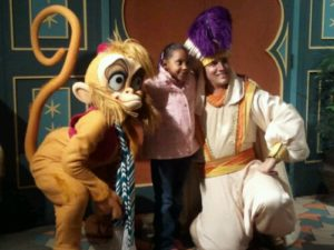 Meeting Abu & Aladdin!