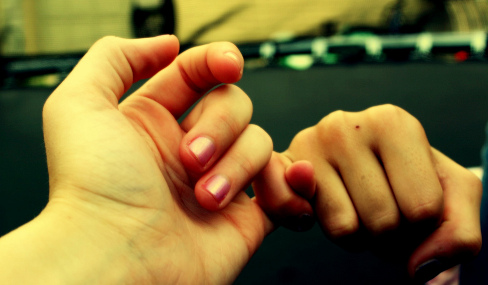 Pinky Promise by Kayla on Flickr