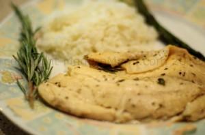 Tilapia Fish Recipe: Garlic-Infused Rosemary & White Wine Tilapia