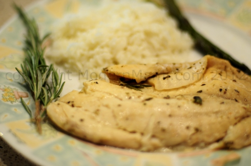 Tilapia Fish Recipe: Garlic-Infused Rosemary & White Wine Tilapia