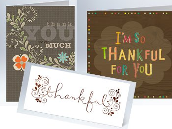 Hallmark Personalized Thank You Cards