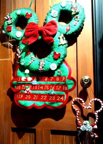 Mickey Christmas Advent Calendar