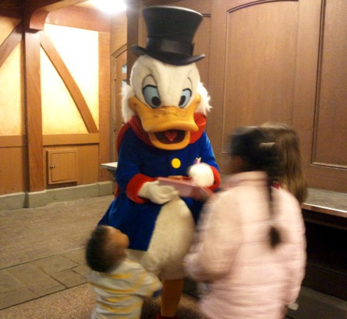 Uncle Scrooge Disney Character Christmas Meet & Greet