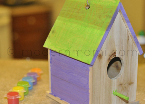 Wooden Craft Activity Kit for Kids, Wooden Birdhouse