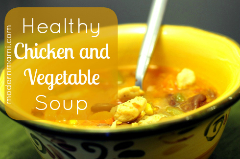 Healthy chicken and vegetable soup for dinner recipe for How to make healthy soup for dinner