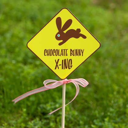 Easter egg hunt printable clue cards