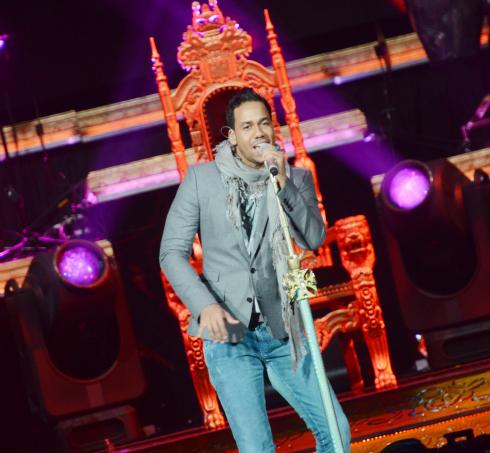 Romeo Santos Concert, Amway Center, Orlando, FL