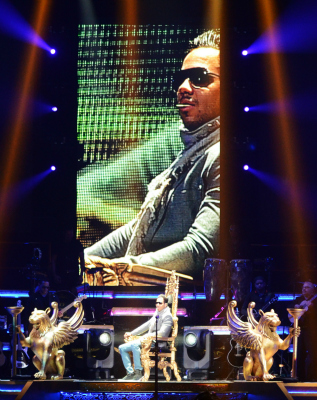Romeo Santos, King of Bachata at the Amway Center in Orlando, FL