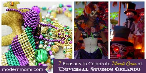 Mardi Gras at Universal Studios Orlando