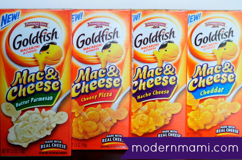 Pepperidge Farm Goldfish Mac & Cheese Product Review