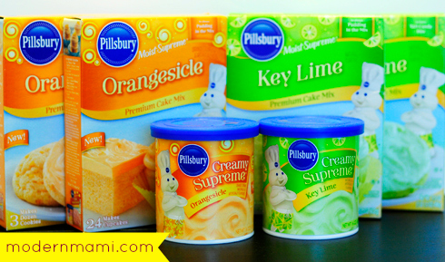 Pillsbury Orangesicle & Key Lime Summer Flavors