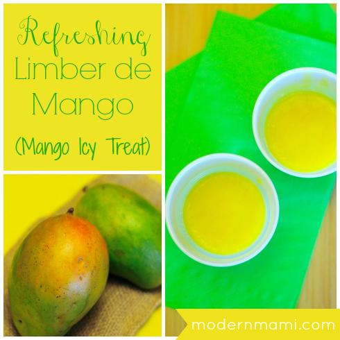 Limber de Mango Recipe