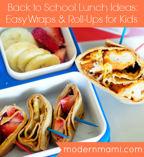Back to School Lunch Ideas: Easy Wraps & Roll-Ups for Kids