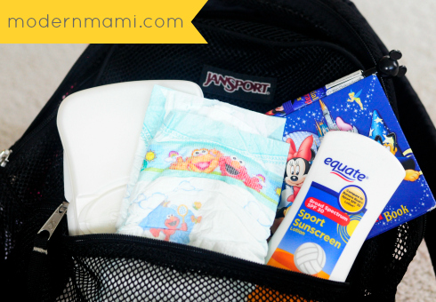Summer Staycation Tips: Keep a Prepacked Backpack with Essentials