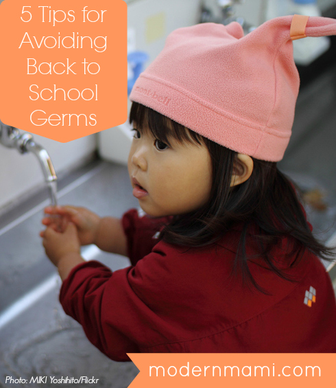 Tips for Avoiding Back to School Germs