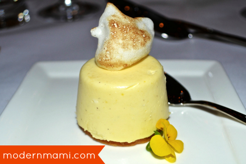 Meyer Lemon Cheesecake at California Grill