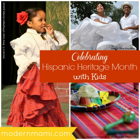 Celebrating Hispanic Heritage Month and Latino Culture with Kids