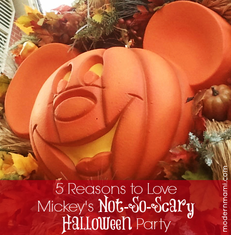5 Reasons You'll Love Mickey's Not-So-Scary Halloween Party