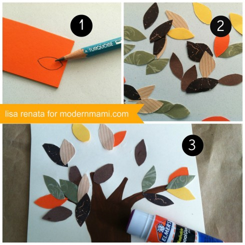 Fall Tree Art Craft for Kids