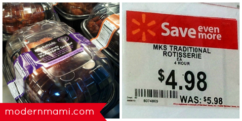 Traditional Rotisserie Chicken On Sale at Walmart
