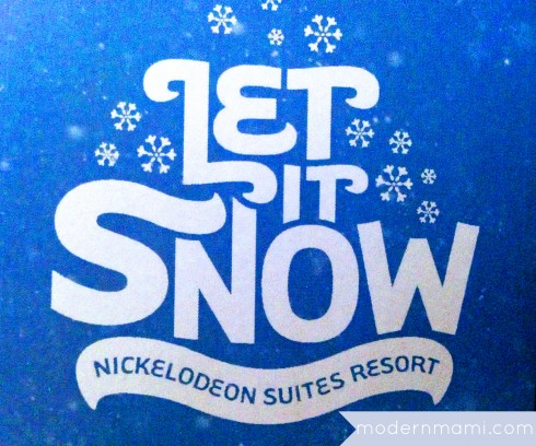 Nickelodeon Suites Resort's Let it Snow