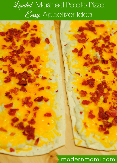 Mashed Potato Bacon Pizza Recipe — modernmami™