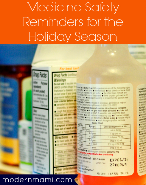 Medicine Safety Tips for Parents for the Holiday Season