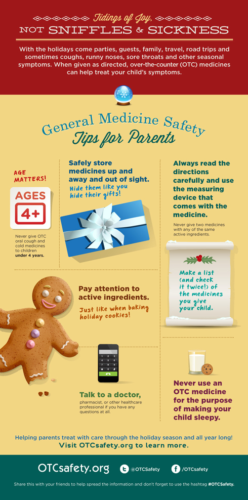 Medicine Safety Tips for Parents for the Holidays