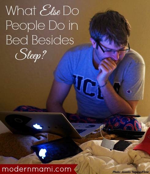 What Else Do People Do in Bed Besides Sleep? Survey Shows Americans Work from Comfort of Bed