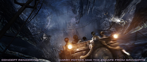 Harry Potter and the Escape from Gringotts, Diagon Alley Wizarding World of Harry Potter, Universal Orlando