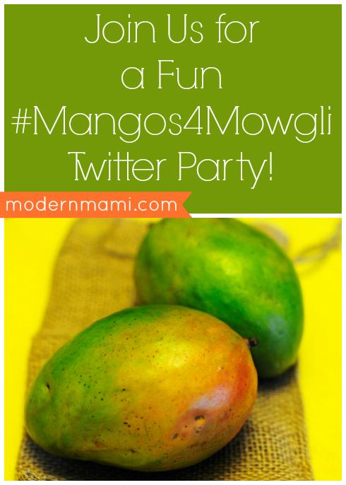 #Mangos4Mowgli Twitter Party Details