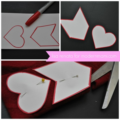 Handmade Valentine's Arrows for Kids
