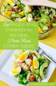 how to make bacalao salad