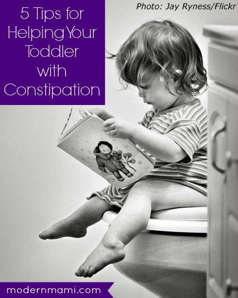 Tips for Helping Your Toddler with Constipation