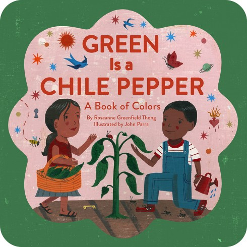 Green is a Chile Pepper Children's Book