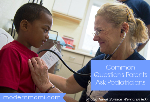 Common Questions Parents Ask Pediatricians