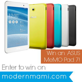 Enter to win an ASUS MeMO Pad 7!