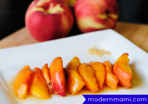 Easy Grilled Peaches Recipe