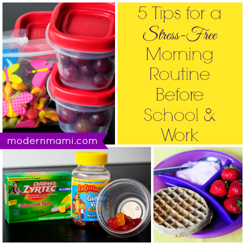 5 Tips for a Stress-Free Morning Routine Before School and Work