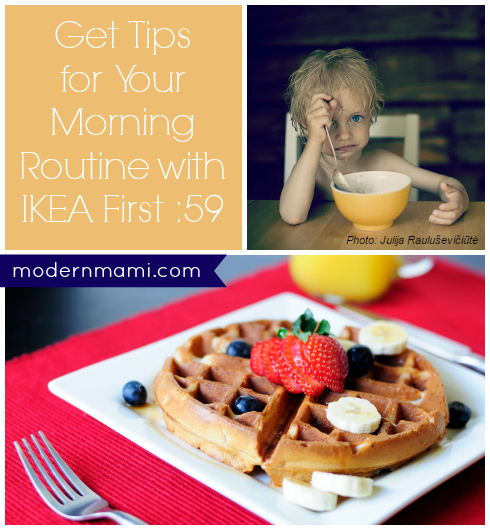 need help with your morning routine ikea first 59 offers tips modernmami. Black Bedroom Furniture Sets. Home Design Ideas