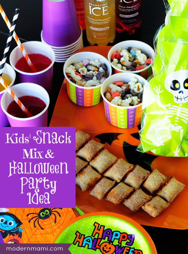 kidsu0027 halloween snack mix a party snack idea recipe modernmami